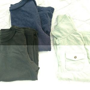 Boys 5t Long Sleeved Shirt Lot of 3
